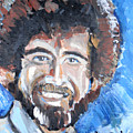 Bob Ross  by Jon Baldwin  Art