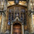 Bodleian Library Door - Oxford by Yhun Suarez