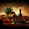 Bon Appetit by Lourry Legarde