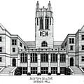 Boston College by Frederic Kohli