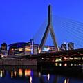 Boston Garden And Zakim Bridge by Rick Berk