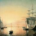 Boston Harbor by Fitz Hugh Lane