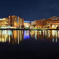 Boston Pano From Bridge To Bridge by Shane Psaltis