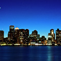 Boston Skyline by By Eric Lorentzen-Newberg