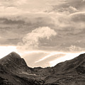 Boulder County Indian Peaks Sepia Image by James BO  Insogna