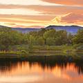 Boulder County Lake Sunset Landscape 06.26.2010 by James BO  Insogna