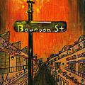 Bourbon Street Lamp Post by Catherine Wilson