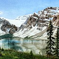 Bow Lake Alberta No.2 by Debbie Homewood