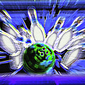 Bowling Sign - Strike by Steve Ohlsen