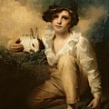 Boy And Rabbit by Sir Henry Raeburn
