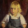 Boy In Blue Overalls by Robert Henri