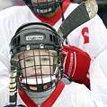 Boys Playing Ice Hockey by Ria Novosti