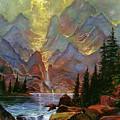 Breaking Sunlight by David Lloyd Glover