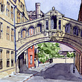 Bridge Of Sighs. Hertford College Oxford by Mike Lester