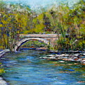 Bridge Over Wissahickon Creek by Joyce A Guariglia
