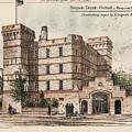 Brigade Depot Oxford England 1880 by Ingrefs Bell