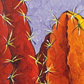 Bright Cactus by Sandy Tracey