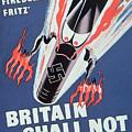 Britain Shall Not Burn by English School