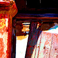 Broken Door By Michael Fitzpatrick by Mexicolors Art Photography