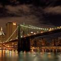 Brooklyn Bridge At Dusk by Shawn Everhart