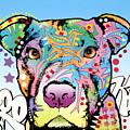 Brooklyn Pit Bull 2 by Dean Russo