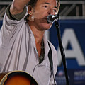 Bruce Springsteen In Cleveland by Brian M Lumley