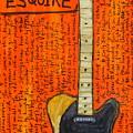 Bruce Springsteen's Fender Esquire by Karl Haglund