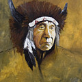 Buffalo Shaman by J W Baker