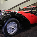 Bugatti Red by Wingsdomain Art and Photography