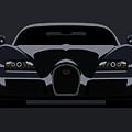 Bugatti Veyron Dark by Michael Tompsett
