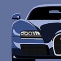 Bugatti Veyron by Michael Tompsett