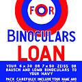 Bullseye For Binoculars by War Is Hell Store