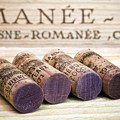 Burgundy Wine Corks by Frank Tschakert