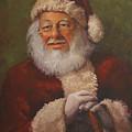Burts Santa by Vicky Gooch