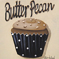 Butter Pecan Cupcake by Catherine Holman