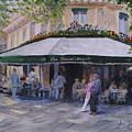 Cafe Magots by Jay Johnson