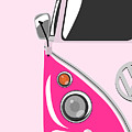 Camper Pink by Michael Tompsett