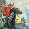 Canadian Mounties by James Edwin McConnell