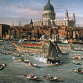 Canaletto: Thames, 18th C by Granger