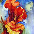 Canna Lilies by Priti Lathia