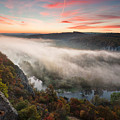 Canyon Of Mists by Evgeni Dinev