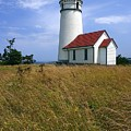 Cape Blanco Light by Winston Rockwell