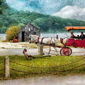 Car - Wagon - Traveling In Style by Mike Savad