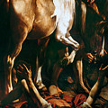 Caravaggio: St. Paul by Granger