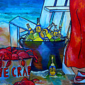 Caribe And Crab by Patti Schermerhorn