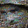 Carl Caddyshack Mosaic by Paul Van Scott