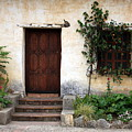 Carmel Mission Door by Carol Groenen