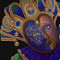 Carnival Peacock Jester by Patty Vicknair