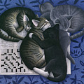 Cats And Crossword  by Carol Wilson