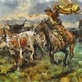 Cattle by Shimi Gasaba
